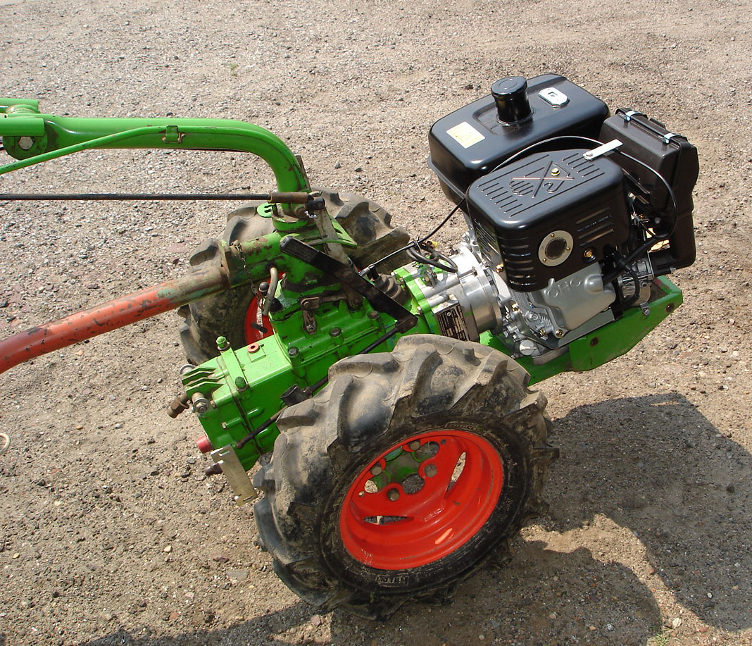 Agria 1700 Adapterflansch für Motorumbauten